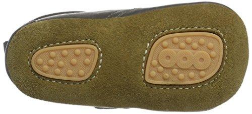 Bisgaard Velcro Star, Zapatillas de estar Por Casa Unisex Niños gris (70 grey)