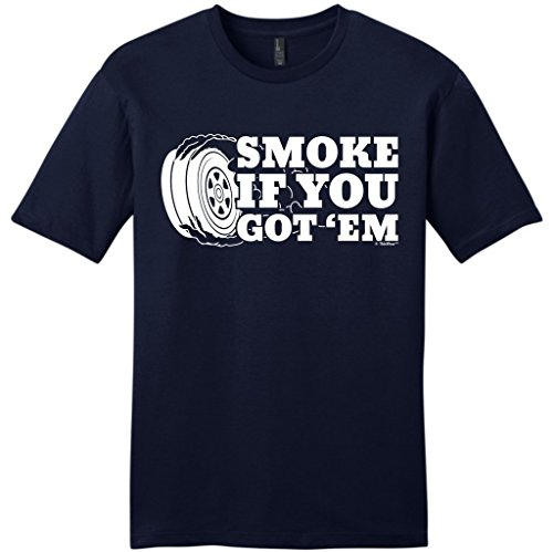 Ford Racing Mechanics Gloves - Car Lover Racing Gift Smoke if You Got 'Em Young Mens T-Shirt Small NwNvy