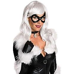 Rubie's Women's Marvel Universe Black Cat Wig, Platinum Blonde, One Size