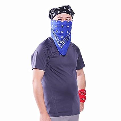 Negro Bluelover Hiphop Al Aire Libre Velo Toalla Facial Pirata Pa/ñuelo Motero Hat Cap