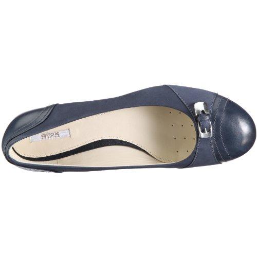 Bailarinas Guenda Azul para mujer Geox D11R5H0DPLCC4002 cuero nobuck Donna Textil de xIC16fq