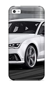 Heidiy Wattsiez's Shop New Style 5793506K45030585 First-class Case Cover For Iphone 5c Dual Protection Cover Audi S4 35