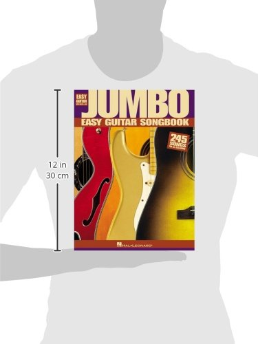 Amazon.com: Jumbo Easy Guitar Songbook (Easy Guitar with Notes & Tab ...