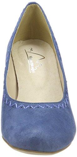 274 Escarpins Escarpins Bout Hirschkogel Hirschkogel 3003415 Fermé Femme Jeans Bout 3003415 Bleu PBSqdpS