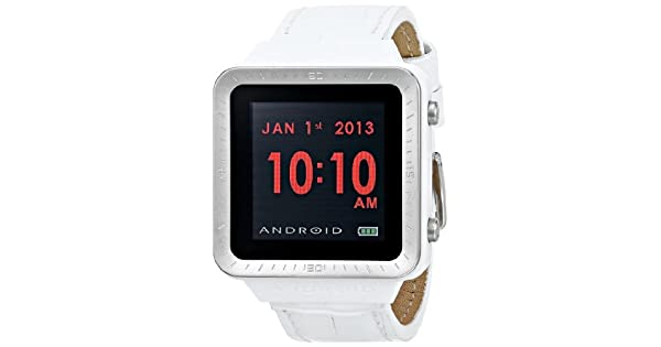 Amazon.com: Android ad721bw SmartWatch GTS Digital cuarzo ...