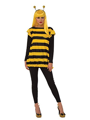 Rubie's Women's Standard Bumble Bee, Yellow/Black, Large -