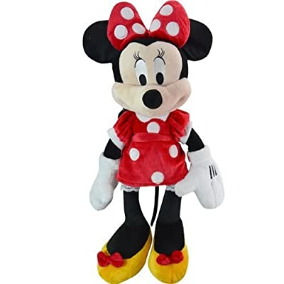 """Plush Backpack - Disney - Minnie Mouse 20"""" Large Soft Doll Toys New 102054"""