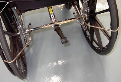 Safe-T Mate Wheelchair Anti Rollback Device(Size=Standard)