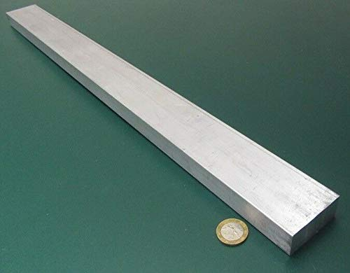 JumpingBolt 6061 T651 Aluminum Bar, 7/8'' (.875'') Thick x 2.0'' Wide x 24'' Length Material May Have Surface Scratches (0.875' Diamond)