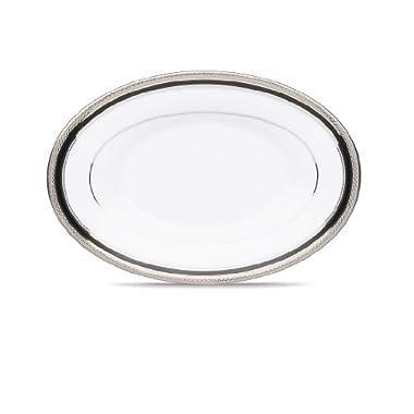 Noritake Austin Platinum Butter Relish Tray