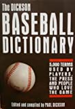 Baseball Dictionary, Paul Dickson, 0816017417