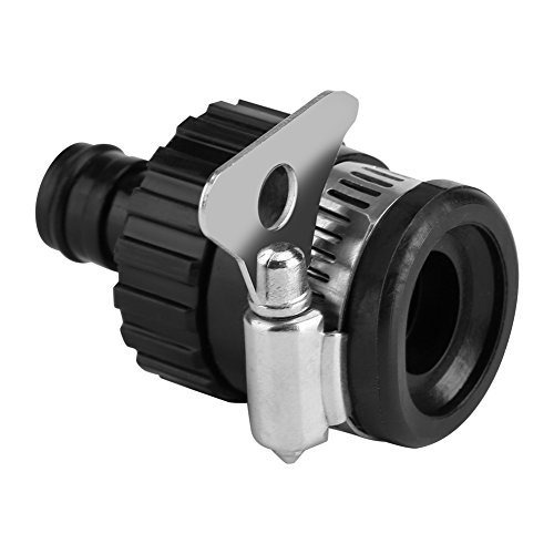 (Fdit Universal Tap Connector Adapter Hose Pipe Fitting for Kitchen Gardening Car Washing)