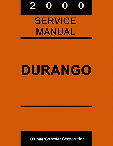 bishko automotive literature 2000 Dodge Durango Truck Shop Service Repair Manual Book Engine Drivetrain