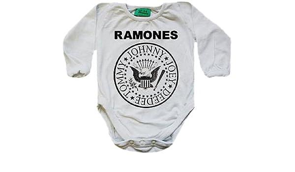 Baby Ramone mueca Hey manga larga body bio-algodón Pink