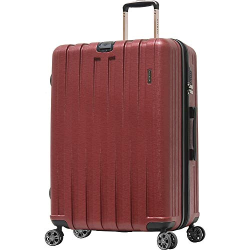 "Olympia USA Sidewinder 29"" Expandable Hardside Checked Spinner Luggage (Wine)"