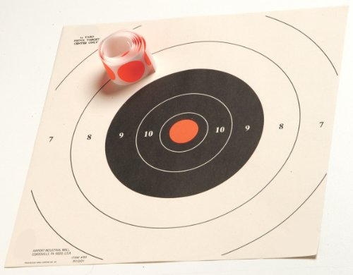 Hoppe's Bulls Eye Target Dots (1 and (Hoppes Rifle Target)