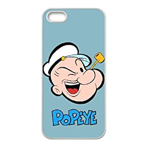 iPhone 5 5s Cell Phone Case White Popeye the sailor owx