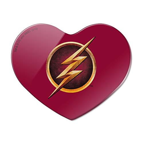 The Flash TV Series Logo Heart Acrylic Fridge Refrigerator Magnet