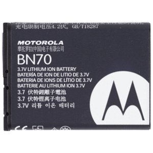 1 X Popular Motorola Bn70 1140mah Extended Lith Ion Bat Factory Original Warranty Of One Year Applies (Motorola Cell Original Phone)