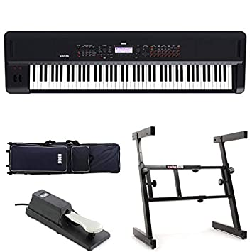 Amazon.com: Korg Kross 2 88-key Stage Bundle: Home Audio ...