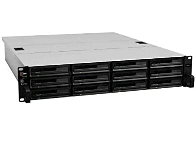 Synology RackStation 12-Bay Diskless Network Attached Storage (RS2414+)