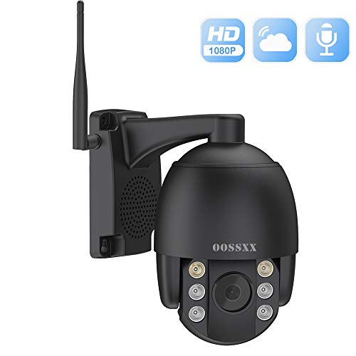 PTZ Security Camera,Wireless IP Camera,PTZ Dome Camera, Outdoor 1080P...