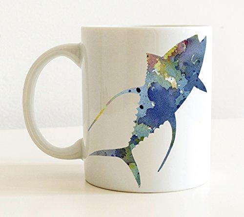 Yellowfin Tuna Mug - Yellowfin Tuna Fishing Lover Coffee Mug - 11 oz - Unique Fishing Gifts