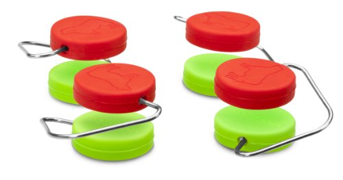 Dreamfarm Chobs - Non-Slip Silicone Cutting Board Feet, Set of 4 (Assorted Colors) ()