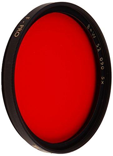 B + W 52mm #090 Glass Filter - Light Red #24 ()