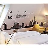 Removable wall sticker - Dubai Skyline