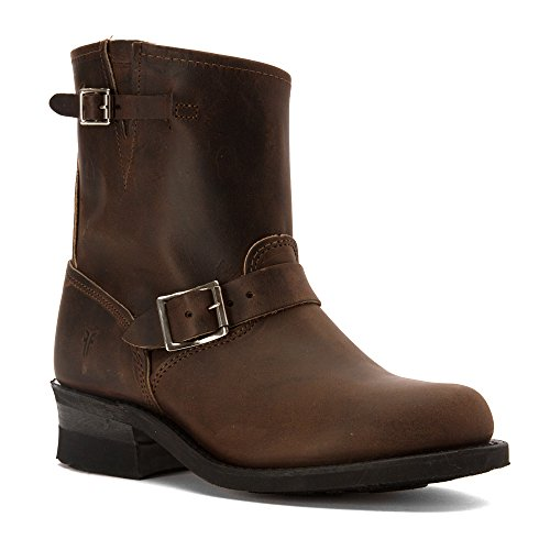FRYE Women's Engineer 8R Ankle Boot, Gaucho, 8.5 M US (Engineer Frye)