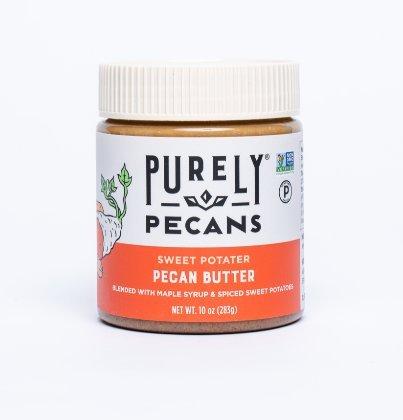 Clean Pecan Butter with Sweet Potato- VEGAN- -