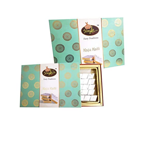 Kaju Katli Burfi Sweet 400g Combo ( Pack of 2 *400, 800g)