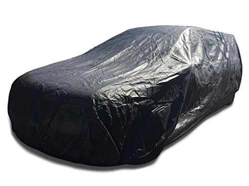 260 Wagon - CarsCover Waterproof Hearse Car Cover for Cadillac, Chrysler, Lincoln fit up to 260 inch Funeral Coach Wagon Ultrashield Black