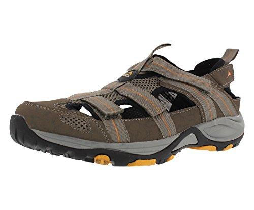 Pacific Berg Kachess Vandring Sandal Mens Skor Storlek Grå / Gul