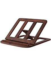 Laptop Stand Wooden Foldable Vertical Stand Portable Tablet Bracket Desktop Lifting Increased Cooling Rack (Color : D, Size : 28 * 28 * 1.8cm)