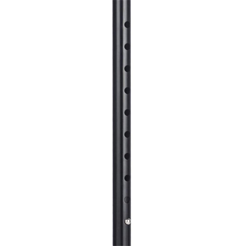 Standard Handle Adjustable Aluminum Crutches Forearm Crutch Assistance Double Adjustable Color : 1pcs Lightweight Walking Aid