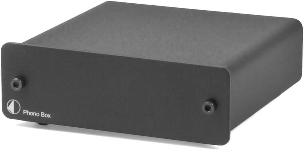 Pro-Ject Phono Box II - Pre-amplificador, color negro: Amazon.es ...