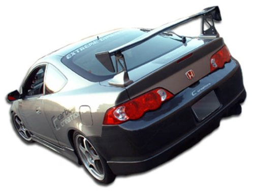 Duraflex ED-SXQ-480 Type M Rear Bumper Cover - 1 Piece Body Kit - Compatible For Acura RSX 2002-2004