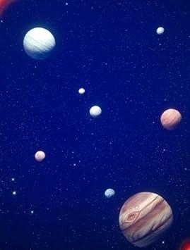 Panoramic Images PPI125132 conceptualizado sistema solar con ...