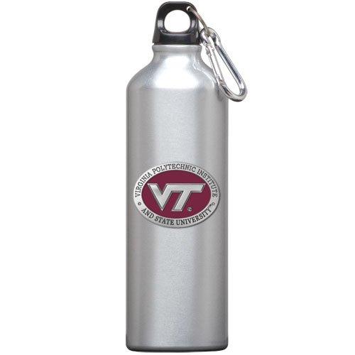 1pc, Pewter Virginia Tech University Water Bottle ()