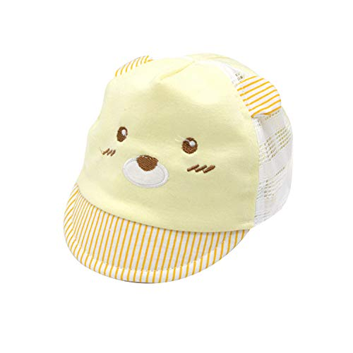 IMLECK Baby Cute Cartoon Reversible Baseball Cap Infant Sun Hat -