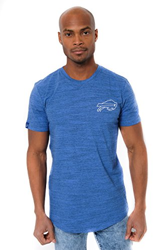 ICER Brands Men's T Active Basic Space Dye Tee Shirt, Team Color, Blue, Medium