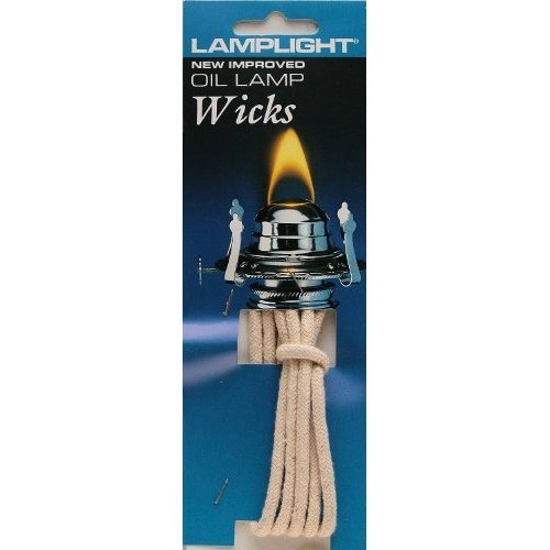 LAMPLIGHT FARMS Round 1/8'' Wick - 5 PACK by Lamplight