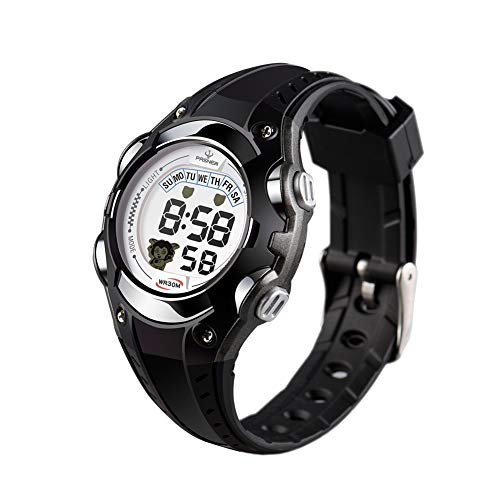 Kids Watch Children Waterproof Watch - Sport Watch Outdoor,Kids Digital Watch with Chronograph, Alarm,Child Wrist Watch for Boys, Girls ()