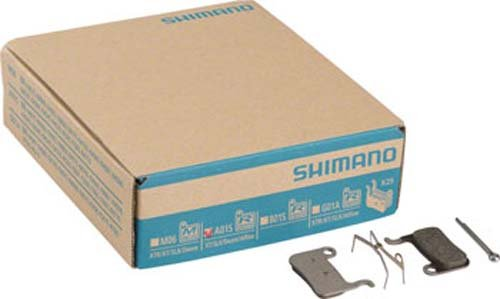 Shimano Disc Brake Replacement Pads for M775, Box of 25 Pairs