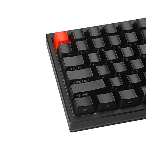NPKC ABS 84 64 Key OEM ANSI ISO Side-lit 1 5mm Thickness Shine Through  Keycap Only Keyset for YMD75 KBD75 Keycool 84 YD64 XD64 GK64