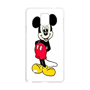 Diy Phone Cover Mickey Mouse for Samsung Galaxy Note 4 N9100 WEQ299594