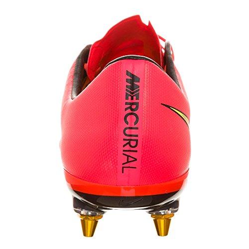 Nike–Botas de fútbol para hombre - pink-yellow-balck