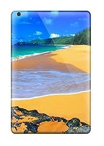 Fowleavis Case Cover For Ipad Mini/mini 2 - Retailer Packaging Sand And Sea Protective Case